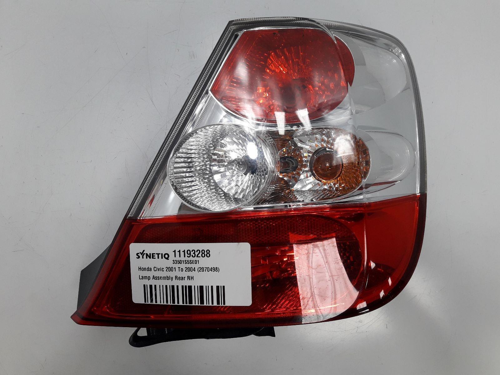Synetiq Honda Mk7 Ep33 2000 To 2005 Typer Lamp Assembly Rear Rh Petrol Manual For Sale