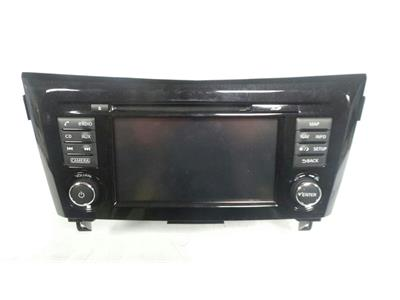 Nissan SAT NAV Untested May Need Coding Touchscreen MAP/CD/Radio AUX 7 513 750 220