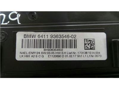 BMW Audio Controls Untested May Need Coding BMW64119363546-02