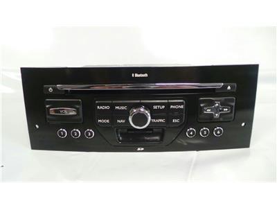 Peugeot Multimedia Untested May Need Coding  CD/Radio Bluetooth BE 6424