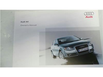 audi a4 2001 owners manual pdf