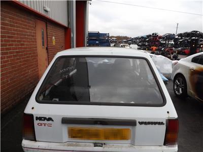 Vauxhall Nova Mk1 (a) used parts, Vauxhall Nova Mk1 (a