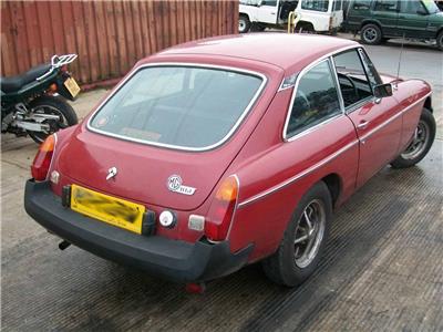 1980 MG B GT