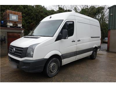 2017 VOLKSWAGEN CRAFTER CR35 Bluemotion MWB