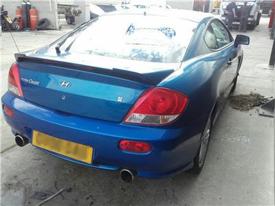 hyundai coupe 2006 blue