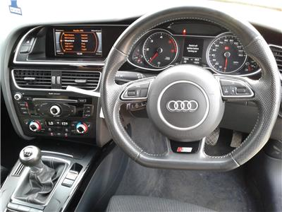 2013 Audi A4 S Line Black Edition Quattro 4 1968 Diesel Manual 6 Speed 5 Door Estate
