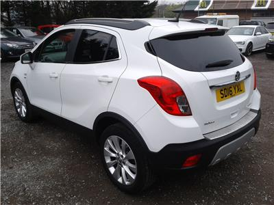 2016 Vauxhall Mokka SE 1364 Petrol Manual 6 Speed 5 Door Hatchback