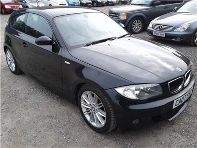 2007 BMW 1 Series 120i M Sport 1995 Petrol Manual 6 Speed 3 Door Hatchback