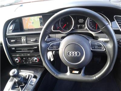 2016 Audi A5 S Line Black Edition Plus Quat 1968 Diesel Manual 6 Speed 5 Door Hatchback