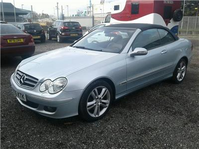2005 Mercedes-Benz CLK Class 200k Avantgarde 1796 Petrol Automatic 5 Speed 2 Door Cabriolet