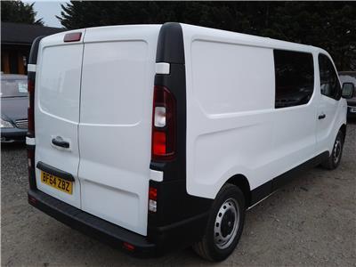2014 Vauxhall Vivaro L2H1 CDTi 1598 Diesel Manual 6 Speed Van L/Side