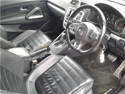 2013 Volkswagen Scirocco R-Line TDi 1968 Diesel Sequential Automatic 6 Speed 3 Door Coupe