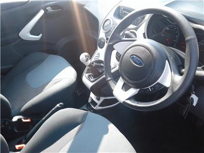 2014 Ford Ka Titanium 1242 Petrol Manual 5 Speed 3 Door Hatchback