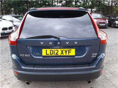 2012 Volvo XC60 SE Lux 2400 Diesel Automatic 6 Speed 5 Door 4x4