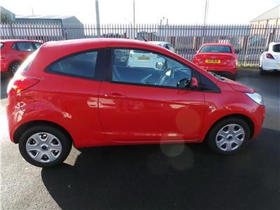 2013 Ford Ka Edge 1242 Petrol Manual 5 Speed 3 Door Hatchback