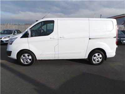 2016 FORD TRANSIT CUSTOM 290 LIMITED LR P/V 1996 DIESEL MANUAL PANEL VAN