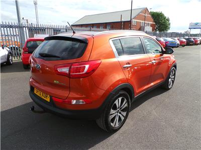 2013 Kia Sportage 3 1685 Diesel Manual 6 Speed 5 Door Estate
