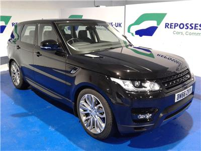 2016 LAND ROVER RANGE ROVER SPORT SDV6 HSE DYNAMIC 2993 DIESEL AUTOMATIC 8 Speed 5 DOOR ESTATE