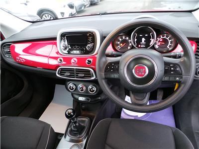2016 FIAT 500X POP 1598 PETROL MANUAL 5 Speed 5 DOOR HATCHBACK