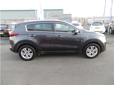 2016 KIA SPORTAGE CRDI 2 ISG 1685 DIESEL MANUAL 6 Speed 5 DOOR ESTATE