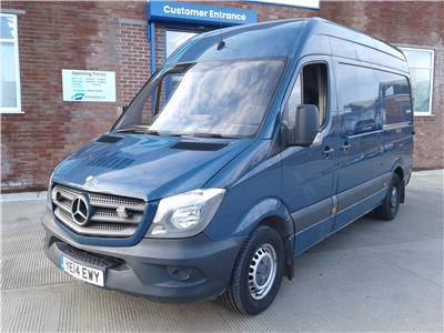 2014 MERCEDES SPRINTER 316 CDI MWB 2143 DIESEL MANUAL PANEL VAN