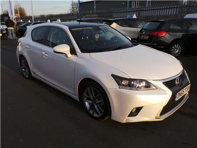 2015 LEXUS CT 200H ADVANCE PLUS 1798 PETROL/ELECTRIC CVT 1 Speed 5 DOOR HATCHBACK