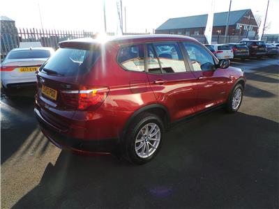 2012 BMW X3 XDRIVE20D SE 1995 DIESEL MANUAL 5 DOOR ESTATE