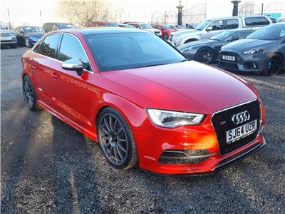 2014 Audi A3 S3 Quattro TFSi 4WD 1984 Petrol Sequential Automatic 6 Speed 4 Door Saloon