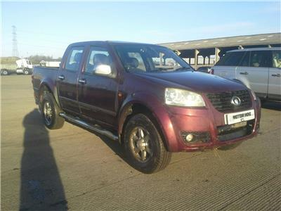 2013 GREAT WALL STEED TD S 4X4 DCB