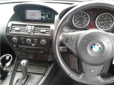 2007 BMW 6 Series 630i 2996 Petrol Sequential Automatic 6 Speed 2 Door Coupe