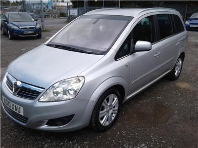 2010 Vauxhall Zafira Elite CDTi 1910 Diesel Manual 6 Speed M.P.V.