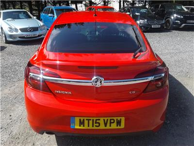 2015 Vauxhall Insignia SRi VX Line CDTi ecoFlex 1956 Diesel Manual 6 Speed 5 Door Hatchback