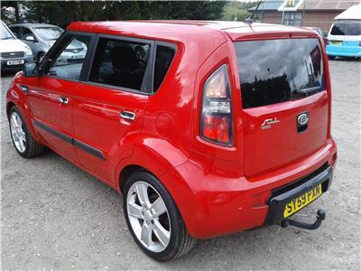 2009 Kia Soul Samba 1591 Petrol Manual 5 Speed 5 Door Hatchback
