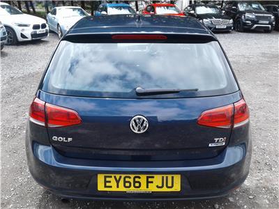 2016 Volkswagen Golf Match Edition TDi 1598 Diesel Manual 5 Speed 5 Door Hatchback