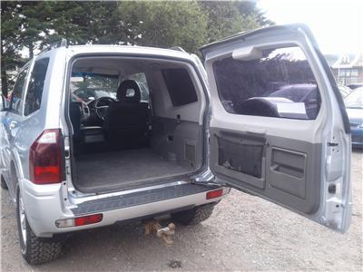 2006 Mitsubishi Shogun Warrior Di-D 4WD 3200 Diesel Automatic 5 Speed 3 Door Estate