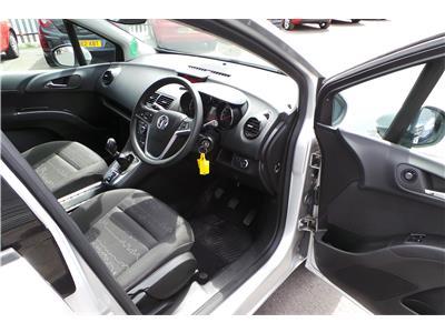 2011 Vauxhall Meriva Exclusiv VVT 1398 Petrol Manual 5 Speed 5 Door Hatchback