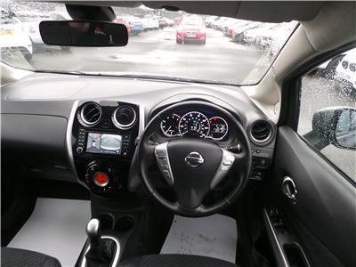 2014 Nissan Note Tekna dCi 1461 Diesel Manual 5 Speed 5 Door Hatchback
