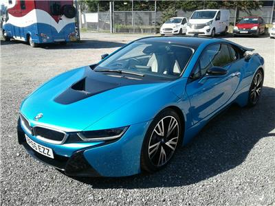 2016 BMW i8 4WD 1499 Petrol/Electric Automatic 6 Speed 2 Door Coupe