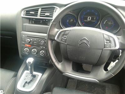 2013 Citroen C4 VTR+ 1598 Petrol Automatic 4 Speed 5 Door Hatchback