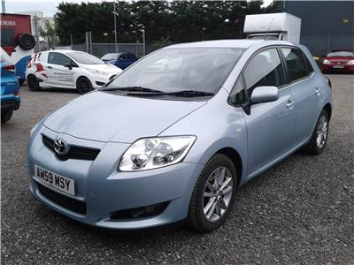 2009 Toyota Auris TR D-4D 1364 Diesel Manual 6 Speed 5 Door Hatchback