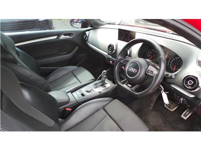 2013 Audi A3 S Line TFSi 122 1395 Petrol Automatic 7 Speed 3 Door Hatchback