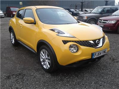 2014 Nissan Juke Acenta Premium DIG-T 1197 Petrol Manual 5 Speed 5 Door Hatchback