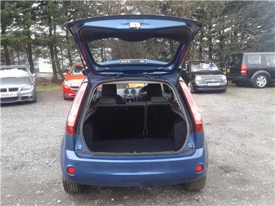 2008 Ford Fiesta Zetec Blue 1242 Petrol Manual 5 Speed 3 Door Hatchback