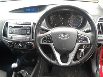2013 Hyundai i20 Active 1248 Petrol Manual 5 Speed 5 Door Hatchback