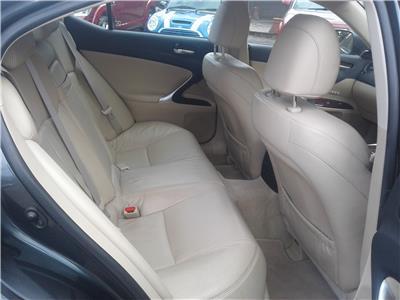2007 Lexus IS SE-L 2499 Petrol Automatic 6 Speed 4 Door Saloon