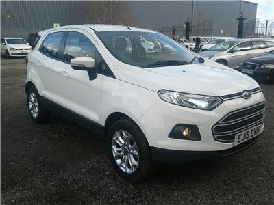 2015 Ford EcoSport Zetec Duratec 1499 Petrol Manual 5 Speed 5 Door Hatchback