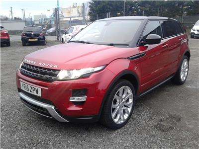 2015 Land Rover Range Rover Dynamic SD4 4WD 2179 Diesel Automatic 9 Speed 5 Door Estate