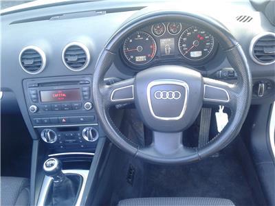 2010 Audi A3 Sport TDi 1598 Diesel Manual 5 Speed 2 Door Cabriolet