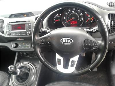 2012 Kia Sportage 2 1591 Petrol Manual 6 Speed 5 Door Estate