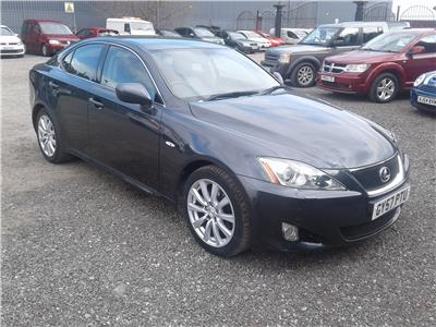 2007 Lexus IS SE-L 2499 Petrol Automatic 6 Speed 4 Door Saloon